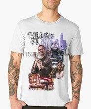 Cair camiseta cópia da arte do filme douglas clássico filme tshirt