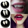 WEIGAO 1 пара зубных протезов для Хэллоуина, зубы зомби, реквизит для косплея, клыки дьявола с зубной резиной, вечерние принадлежности для мероп...
