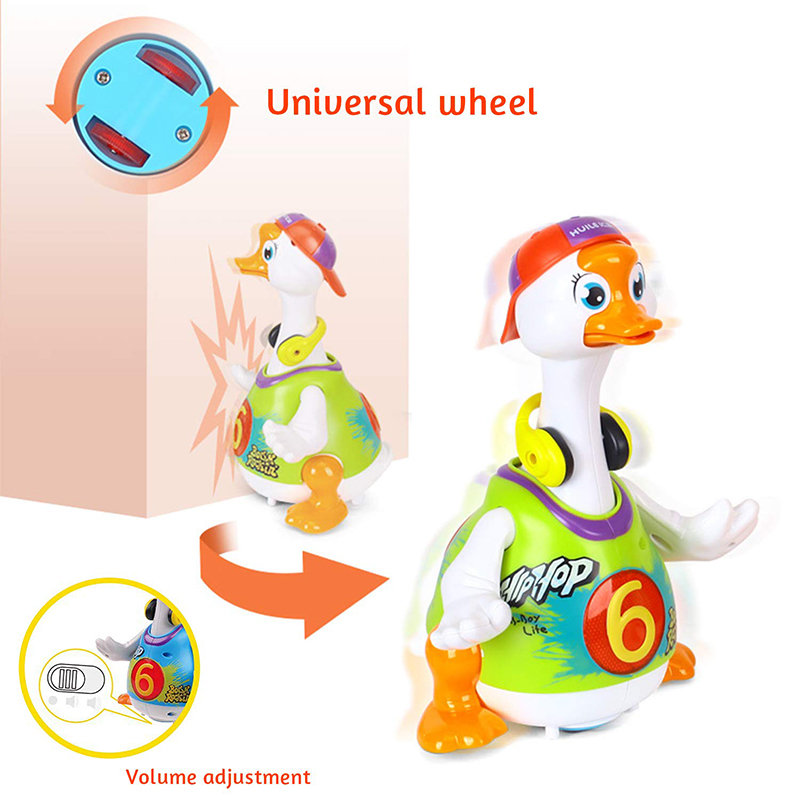 Dancing /& Singing Light Up Education//Developmental Duck Toy