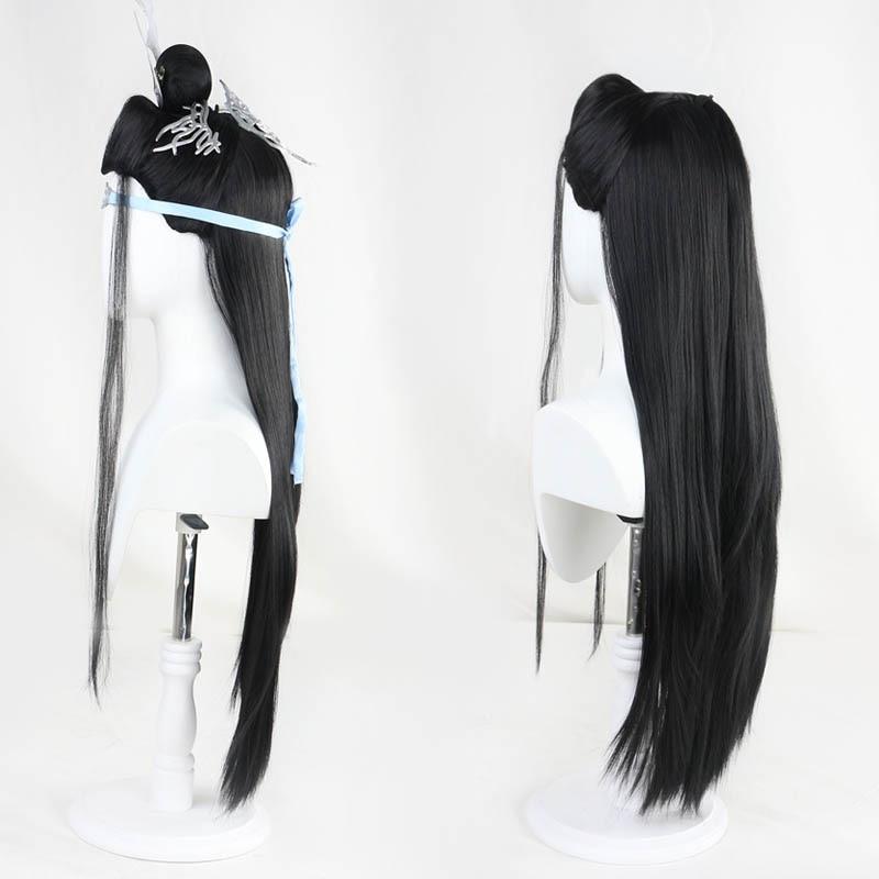 Grandmaster of Demonic Cultivation The Untamed Lan Wangji Cosplay Hair Wig 陈情令