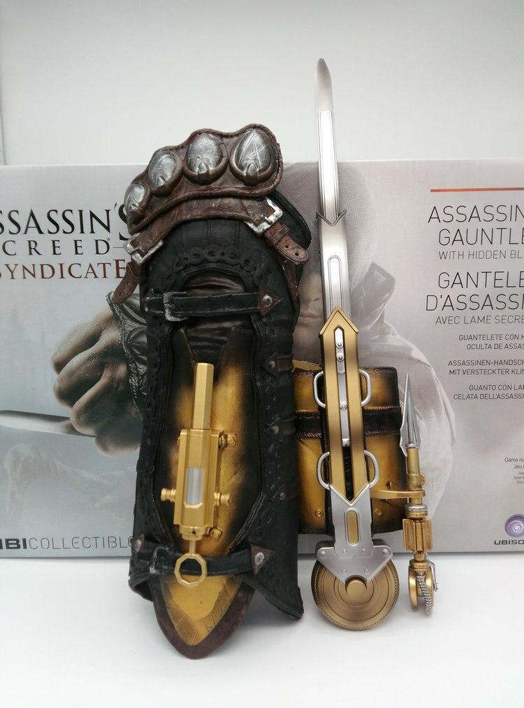 Cosplay Hidden Sword Sleeve Action Figure Assassin Hidden Blade Edward Weapon Sleeve Sword Assassin's Creed Weapon Props