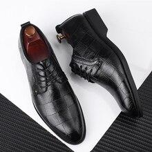 38 48 erkek resmi ayakkabı iş şık rahat beyefendi resmi ayakkabı erkekler #8817
