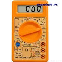 DHL/EMS 20 قطعة الطلاب التعلم بسيطة سهلة المحمولة رقمي متعدد DT 830D + pen A7|ملحقات البطارية وملحقات الشاحن|الأجهزة الإلكترونية الاستهلاكية -