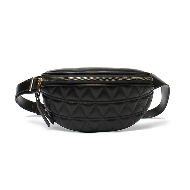 PU Leather Fanny Packs for Women Solid Color Small Summer Fashion Waist Packs Female Phone Purses Ladies Chest Bags Mini Bag 6