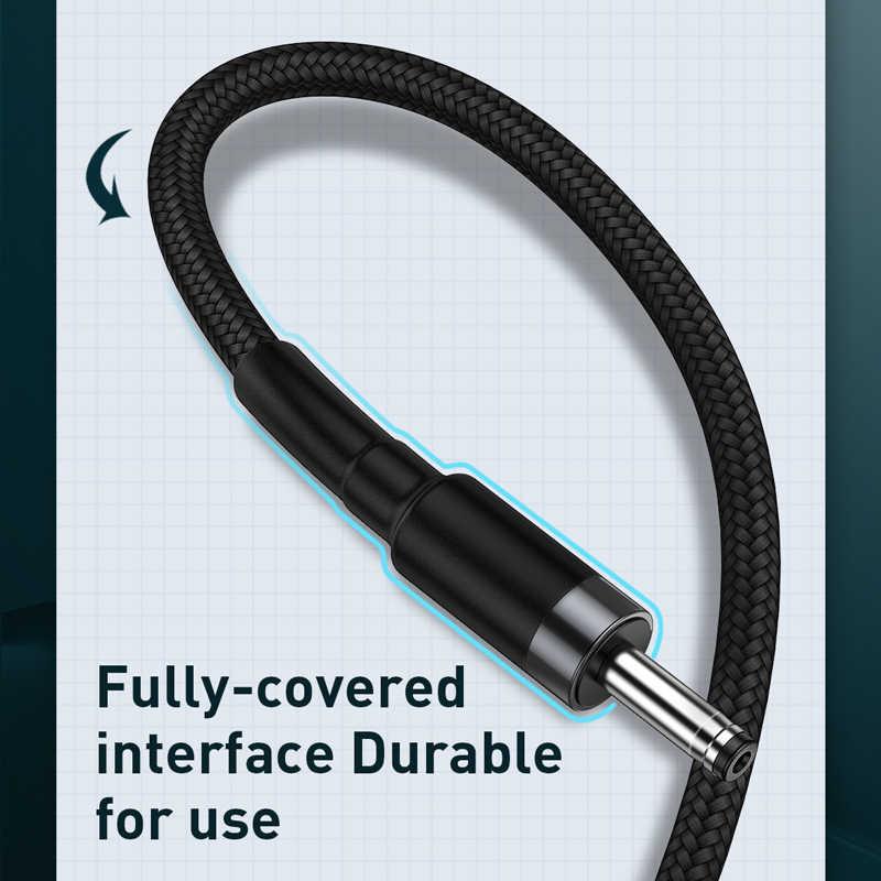 Baseus USB إلى تيار مستمر 3.5 مللي متر الطاقة كابل يو إس بي ذكر إلى 3.5 جاك كابل شحن ل HUB USB مروحة بمصباح المتكلم تيار مستمر كابل محول الطاقة 1 متر