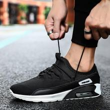 air cushion shoes for couple outdoor unisex shockproof runni