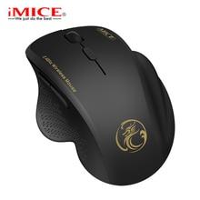 Ergonomische Maus Drahtlose Maus Computer Maus Für PC Laptop 2,4 Ghz USB Mini Mause 1600 DPI 6 tasten Optische Mäuse