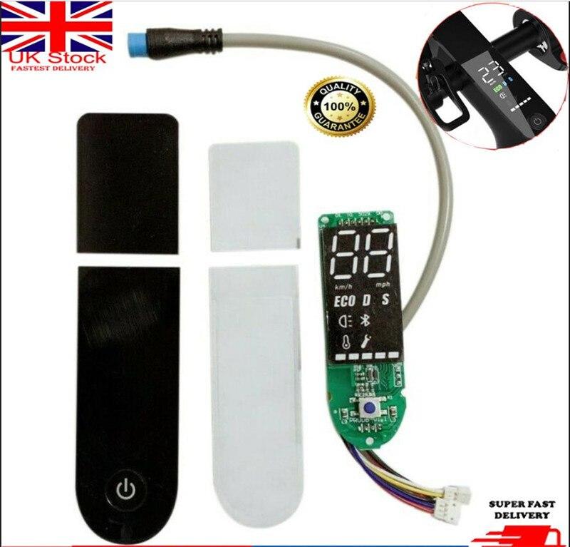 1*For Xiaomi MI M365 Scooter Dashboard  Screen Cover Circuit Bluetooth Board 48V