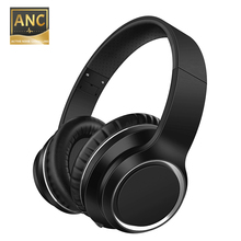 Wireless Bluetooth V5.0 ANC Headset Aptx HD Stereo Hybrid Active Noise-Cancellin