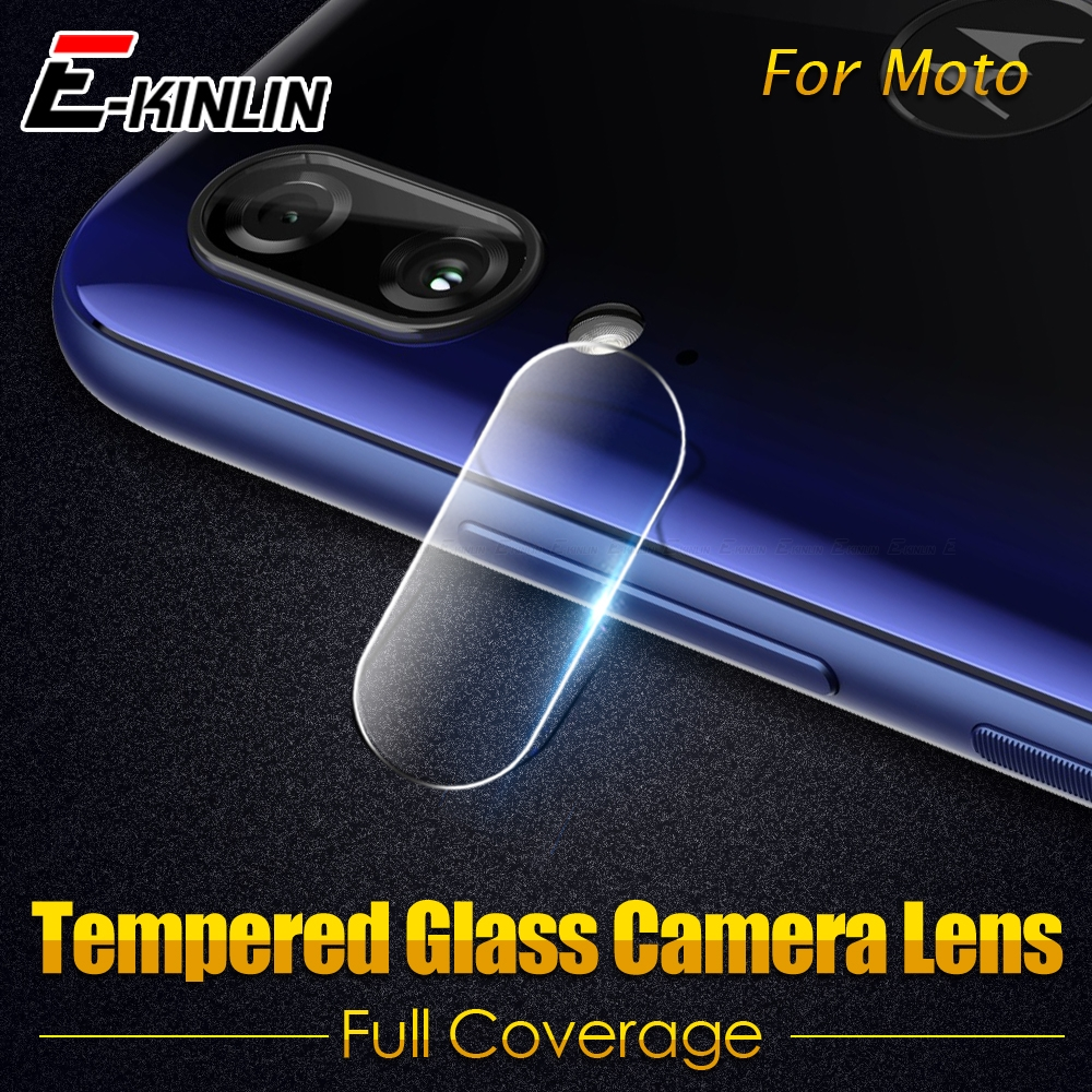 Clear Tempered Glass Protective For Motorola Moto E6 G5 E6s E4 Plus Z Force Z2 Play Back Camera Lens Rear Screen Protector Film image