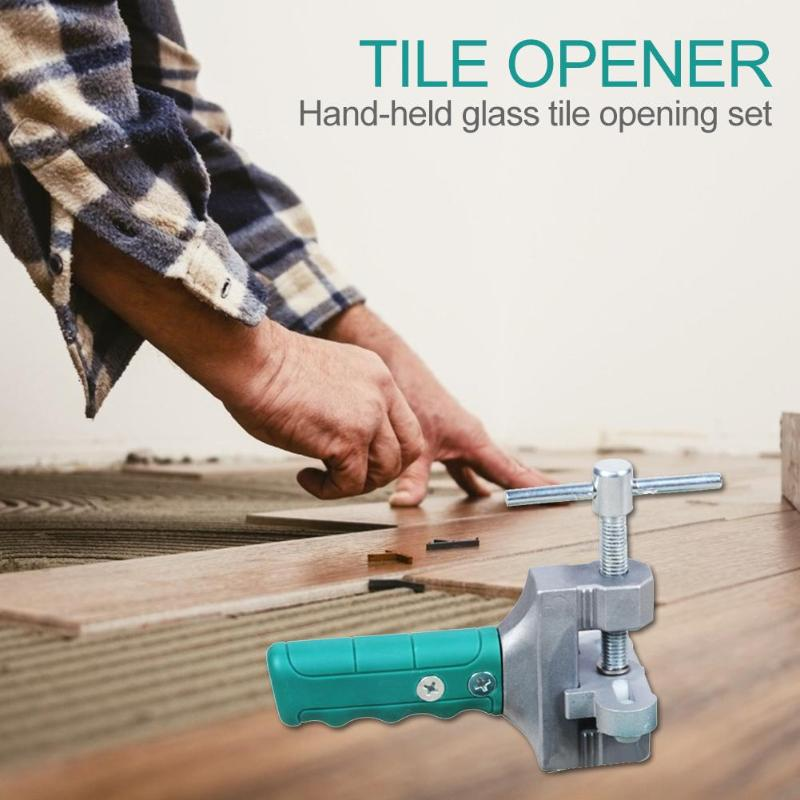 Hand Grip Tile Divider Opener Breaker Handheld Glass Tiles Quick Opening Set Multifunction Construction Tools Supplies