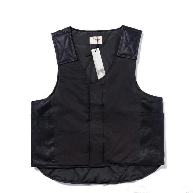 20SS Latest Justin Bieber Fog ESSENTIALS High Quality Hiphop Season 7 Men Women Coats Vests Jacket Streetwear Fashion Cotton