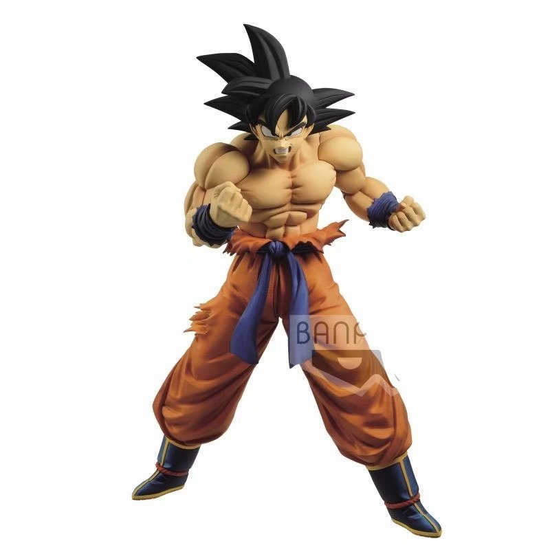 Dragon Ball Super MAXIMATIC Son Goku 250mm PVC Action Figures Toy DBZ Dragon Ball Z Goku Figurine Toys Gift