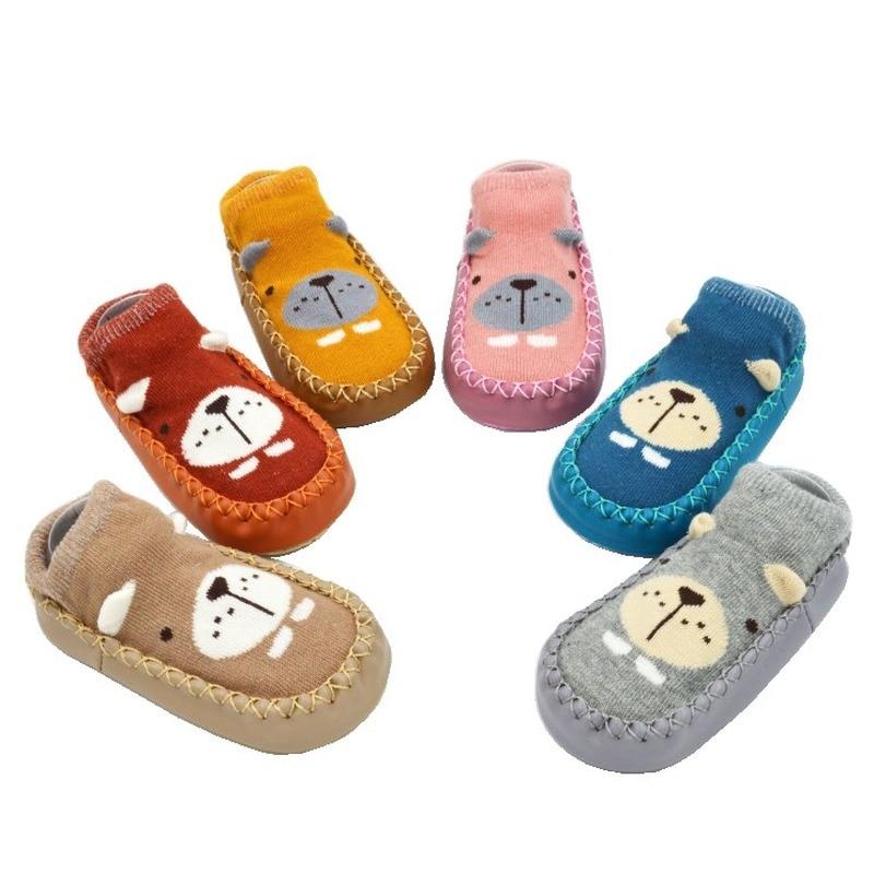 Baby Kids Socks Soft Rubber Soles Infant Sock Newborn Spring Autumn Winter Children Girl Boy Floor Socks Shoes Anti Slip Sock