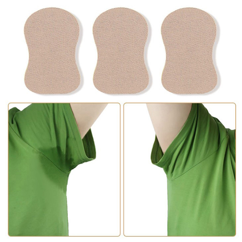 Underarm Sweat Pads For Clothing T-Shirt Anti Sweat Armpit Absorbent Pads Summer Deodorants Armpit Absorbent Pad Sticker Random