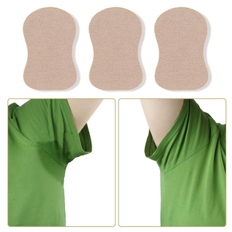 Underarm Sweat Pads For Clothing T-Shirt Anti Sweat Armpit Absorbent Pads Summer Deodorants Armpit Absorbent Pad Sticker Random