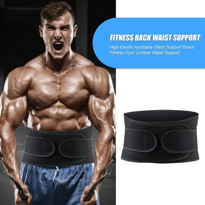 Hot Sale Fitness Back Waist Support Unisex Fitness Waist Belt Wrap Weight Loss Trimmer Slimming Exercise Body Shaper
