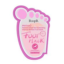 Nowy złuszczający skórki kalus maseczka do stóp s pielęgnacja stóp naprawy krem do stóp nawilżający wybielanie masaż stóp maseczka do stóp TSLM1 tanie tanio RtopR Maska do stóp Foot membrane CHINA