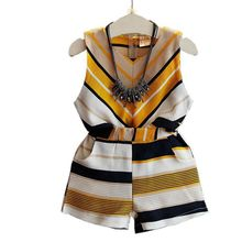 New Summer Girls Clothing Sets Baby Toddler Kids Girl Clothes Striped Sleeveless Blouse Tops+Short Pants 2Pcs Suit 40 girls clothing sets for girls summer sleeveless striped tops