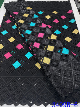 NIAI Nigerian Lace Bazin Riche Getzner Fabrics Tissu French Cotton Embroidery African Lace Fabric XY3499B-6 liulanzhi african bazin riche getzner fabric soft embroidery blue lace fabric brocade fabric cotton 7yards per lot ml39b30
