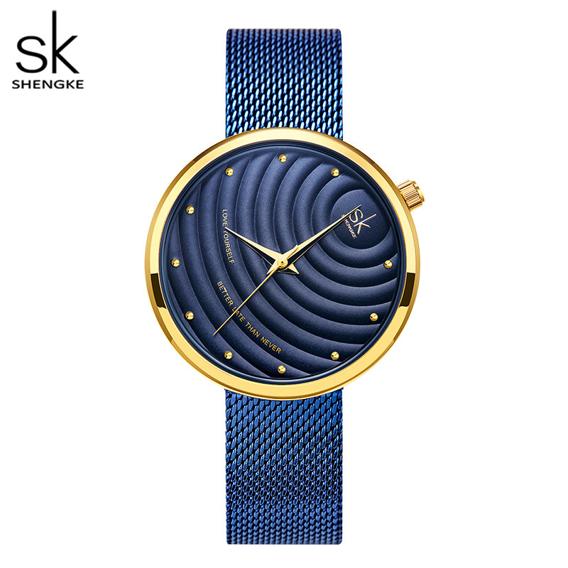 Shengke Women Watches Women Fashion 2020 Geneva Designer Ladies Watch Luxury Brand Diamond Quartz Wrist Watch Gifts For Women