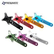 Prowheel 104bcd mtb bicicleta pedaleira da liga de alumínio com parte inferior da bicicleta pedaleira mtb manivela acessórios 170mm 175mm