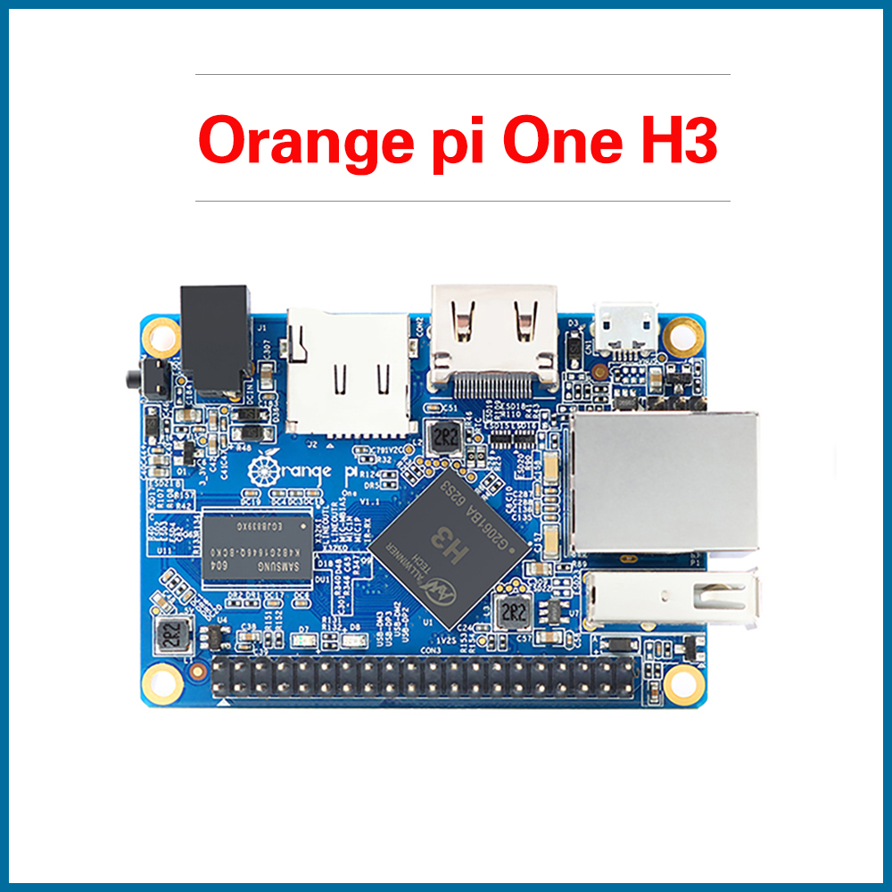 S ROBOT Orange Pi One H3 512MB Quad-core Support Ubuntu Linux And Android Mini PC ORI2