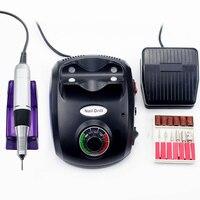 35000/20000 RPM lakier do paznokci wiertarka do Manicure elektroniczny pilnik do paznokci zestaw do manicure i pedicure Nail Art Equipment