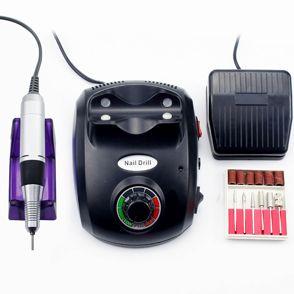 35000/20000 RPM Nail Polish Drill Machine Manicure Electronic Nail File Drill Manicure Pedicure Kit Nail Art Equipment