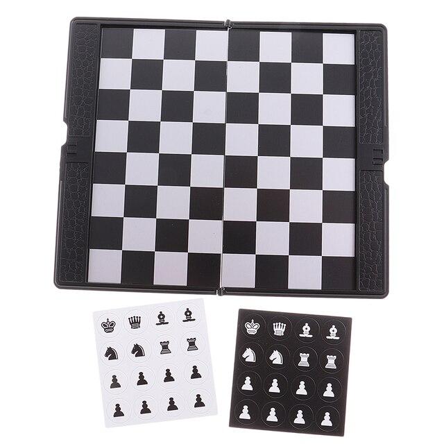 Mini portefeuille d'échecs de voyage magnétique mis bon cadeau de conception pour le voyage Durable 5