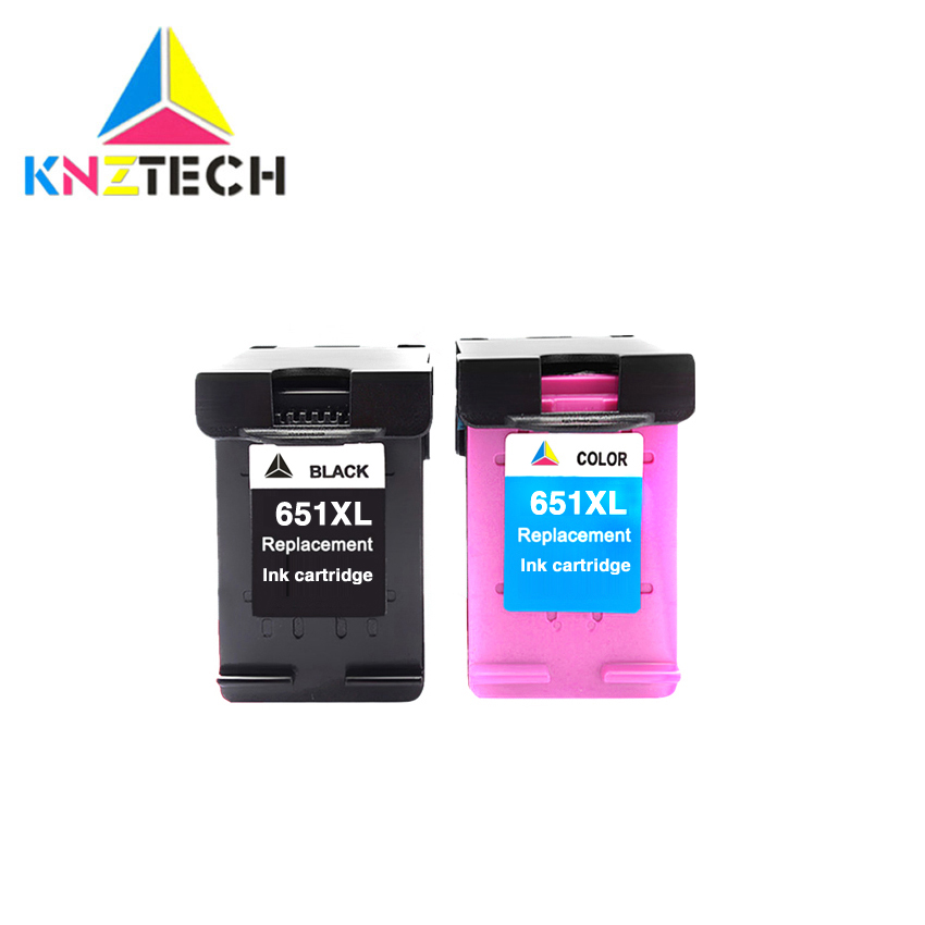 651XL Replace Compatible For 651 651 Ink Cartridge For Deskjet 1115 2135 2136 2138, Advantage 5575 5645 Officejet 202