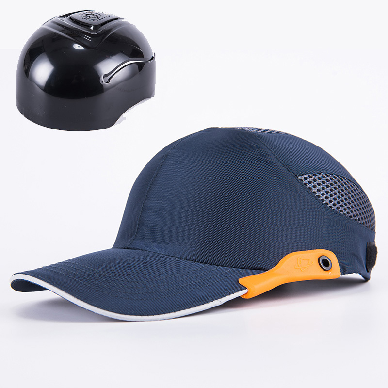 Hi Vis Reflective Safety Bump Cap Lightweight Breathable Hard Hat Head Helmet Work Protection Construction Hat Mens Cap