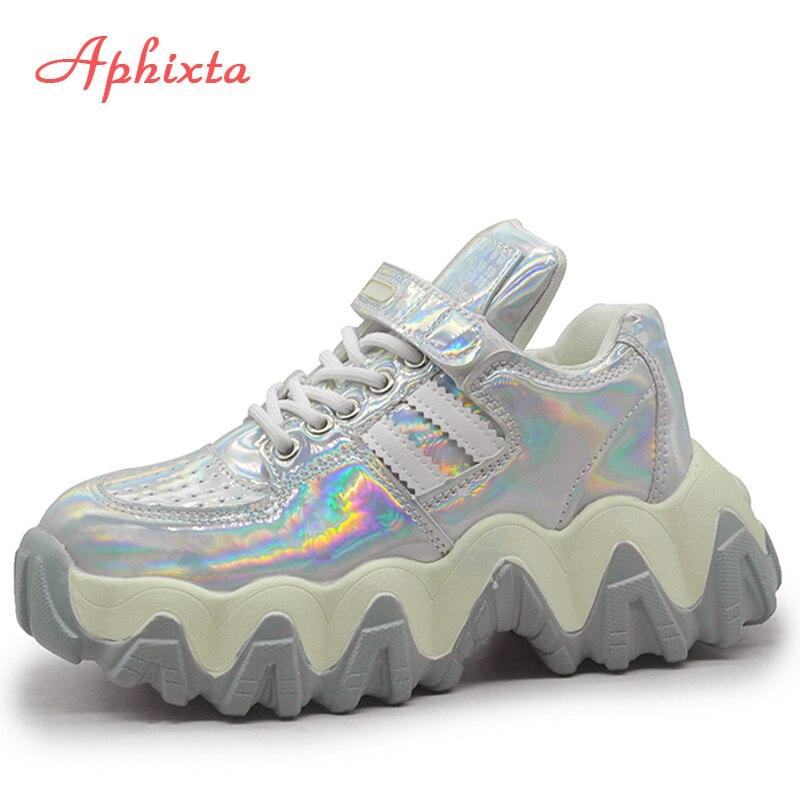 Aphixta Platform Sneakers Height