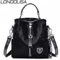 Lonoolisa elefante padrão mochila 3-em-1 mulher mochila de couro zíper escola sacos de ombro para adolescentes sac a dos femme