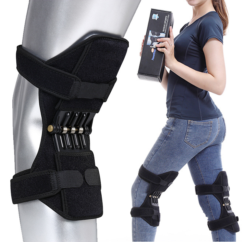 knee brace support Knee Protector Rebound Power leg Knee Pads booster brace Joint support stabilizer Spring Force Elbow & Knee Pads    - AliExpress