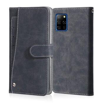 Перейти на Алиэкспресс и купить Роскошный Винтажный чехол для Elephone E10 PX U3 U3H A7H, кожаный чехол с откидной крышкой и подставкой для карт, Магнитный чехол для телефона Elephone E10