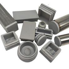 4 16 шт пластиковая стальная труба отверстие заглушка серый