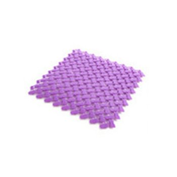 Candy Color Multifunction Puzzle Pad Removable Bath Mat Non-slip Massage Shower Mat Kitchen Bathroom Accessories image