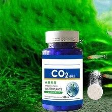 Diffuseur de dioxyde de carbone pour Aquarium, 60/100 pièces, tablette de CO2 pour réservoir d'eau, plante d'herbe