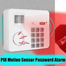 Sensor de movimento sem fio alarme com teclado de segurança pir anti assaltante casa garagem segurança teclado remoto detectores infravermelhos