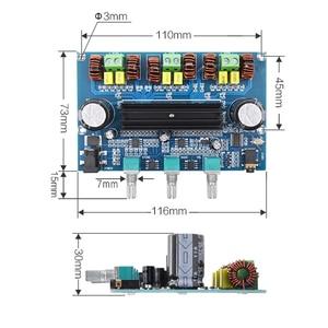 Image 3 - TPA3116 דיגיטלי מגבר כוח לוח 2.1 ערוץ סטריאו Class D מגברי קול Bluetooth 5.0 אודיו בס סאב מגבר