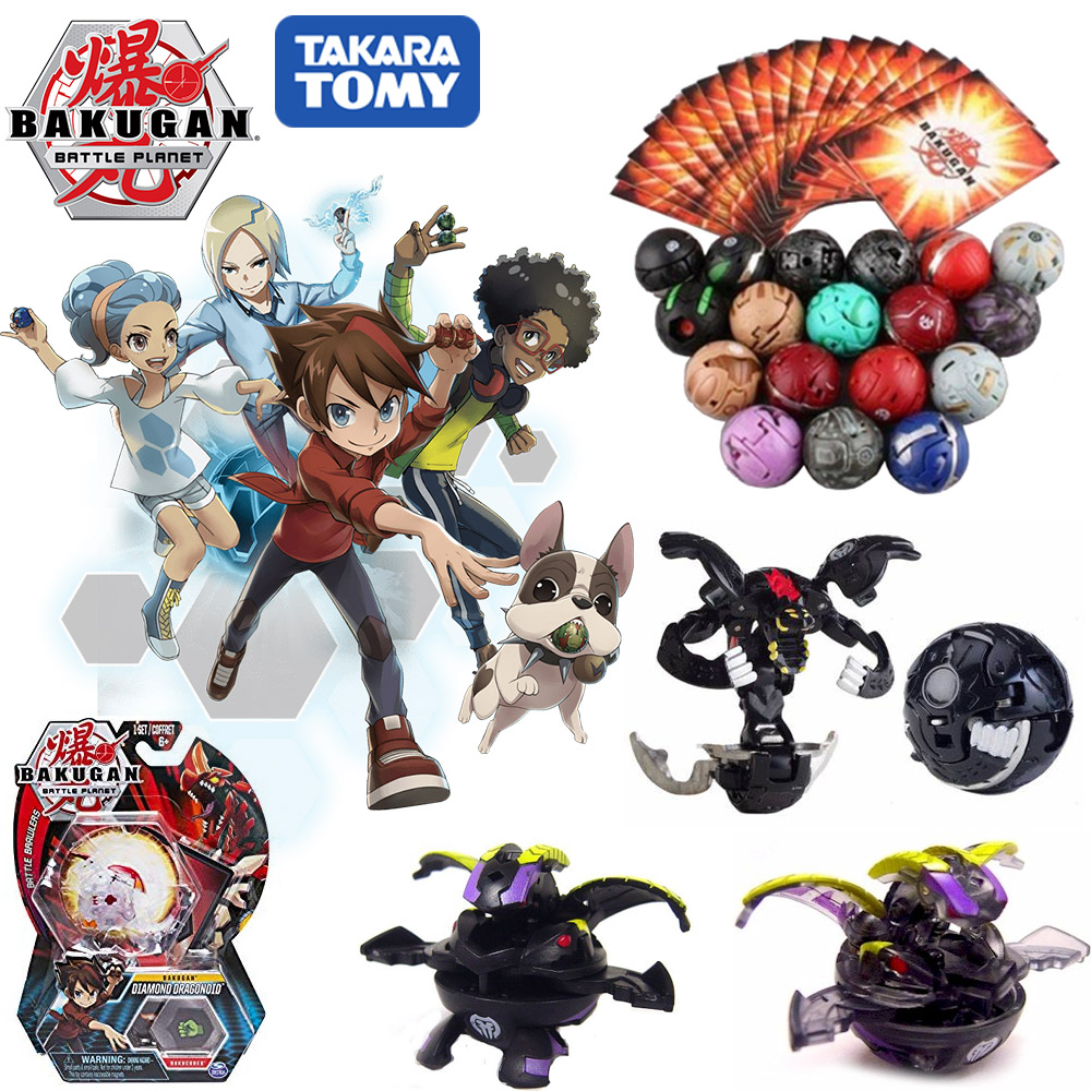 Ball-Toys Transformation Planet-Game Battle Baku Drago Brawlers Takara Tomy Monster