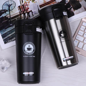 Vacuum Flask Tumbler-Cup Coffee-Mug Water-Bottle Stainless-Steel Travel Portable 380ml