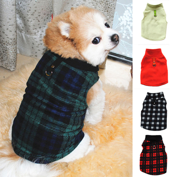 Warm Dog Coat Fleece Winter Dog Clothes French Bulldog Pug Chihuahua Pet Puppy Clothes Small Dog Jacket Clothing for Dog Coats image