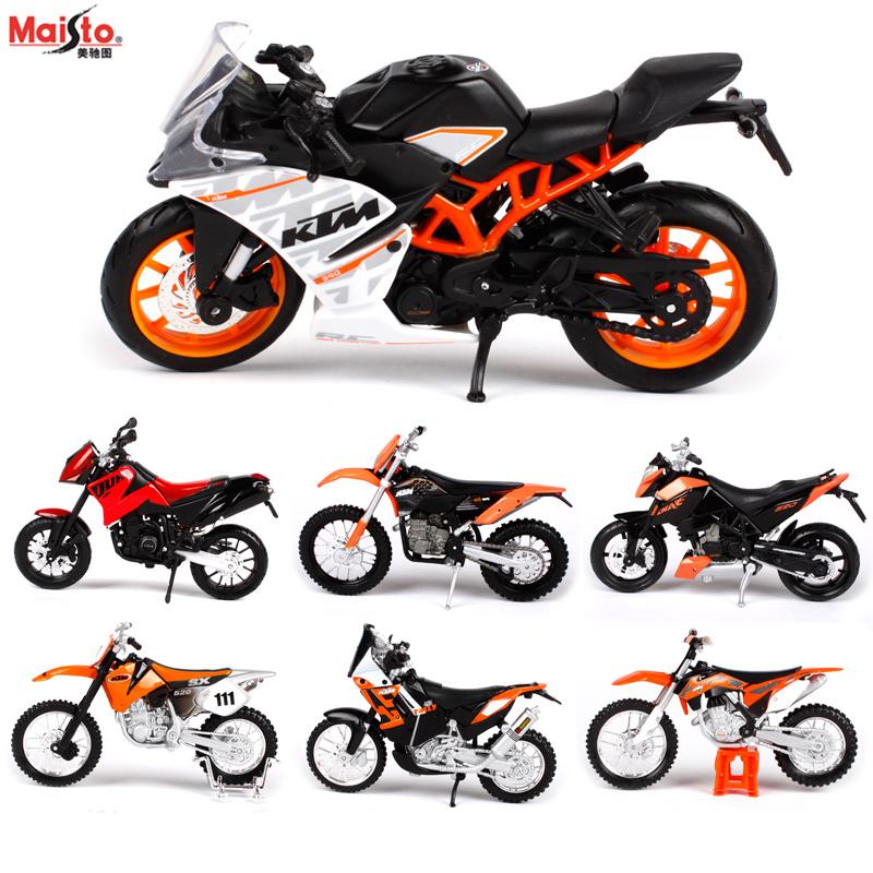 Maisto 1:18 KTM 450-Rally original authorized simulation alloy motorcycle model toy car