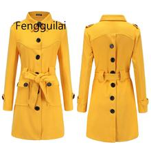 Yellow Coat Jacket Single