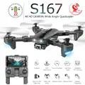 S167 складной Профессиональный Дрон с камерой 4K HD Selfie 5G gps WiFi FPV широкоугольный Радиоуправляемый квадрокоптер Вертолет игрушка E520S SG900 S