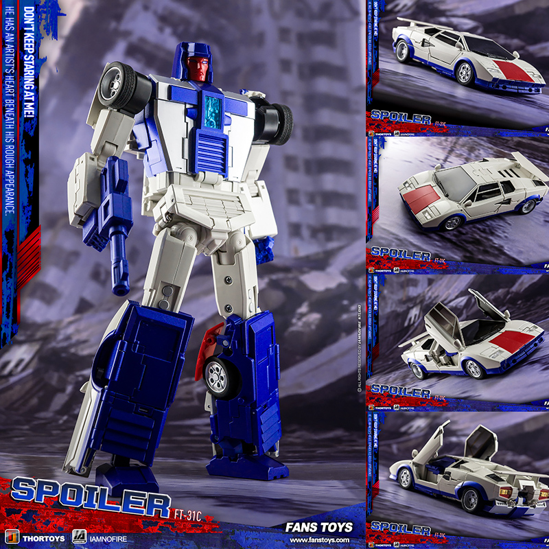Image 5 - Fans Toys Transformation Toy Masterpiece FT 31A FT31A Roadking aka MP Motormaster MISB Action Figure Robots Collection DeformedAction & Toy Figures   -