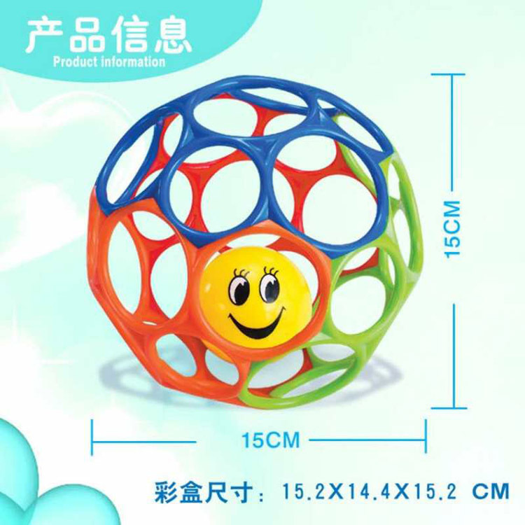Item A Product Infant Molar Soft Silcone Teethers Hand Ball-Bite Rattle Crocs Shoes Qiu Bell Fitness Ball