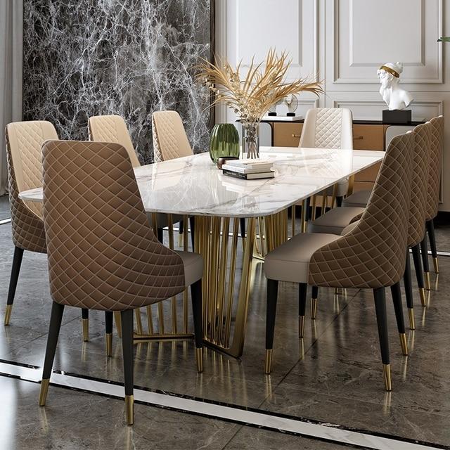 Luxury Marble Dining Set 4